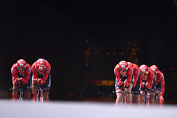 July 7, 2019 - Bruxelles, Belgium - BRUSSELS, BELGIUM - JULY 7 : Team Sunweb during stage 2 of the 106th edition of the 2019 Tour de France cycling race, a team time trial of 27,6 kms with start and finish in Brussels on July 07, 2019 in Brussels, Belgium, 7/07/2019 ( Motordriver Kenny Verfaillie - Photo by Vincent Kalut / Photo News. (Credit Image: © Panoramic via ZUMA Press)