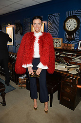 NEWBURY, ENGLAND 26TH NOVEMBER 2016: Lucy Mecklenburgh at Hennessy Gold Cup meeting Newbury racecourse Newbury England. 26th November 2016. Photo by Dominic O'Neill