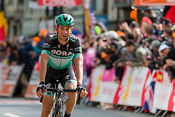 2nd place winner Davide Formolo (ITA) of BORA - hansgrohe (GER,WT,Specialized) after the finish during the 2019 Li&egrave;ge-Bastogne-Li&egrave;ge (1.UWT) with 256 km racing from Li&egrave;ge to Li&egrave;ge, Belgium. 28th April 2019. Picture: Pim Nijland | Peloton Photos<br /> <br /> All photos usage must carry mandatory copyright credit (Peloton Photos | Pim Nijland)