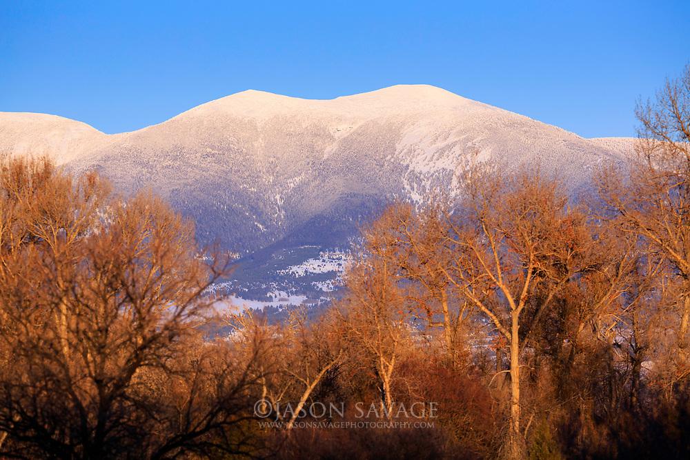 Mt Baldy near Canyon Ferry Lake, Montana.