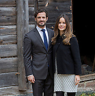 &Auml;lvdalen, 06-10-2015<br /> <br /> Official visit of Prince Carl Philip and Princess Sofia to Dalrna<br /> <br /> Visit to the stone porphyry in &Auml;lvdalen<br /> <br /> Photo: Royalportraits Europe/Bernard Ruebsamen