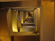 Looking up the stairwell in the Provincetown Monument.
