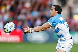 Argentina Full Back Joaquin Tuculet in action - Mandatory byline: Rogan Thomson/JMP - 07966 386802 - 25/09/2015 - RUGBY UNION - Kingsholm Stadium - Gloucester, England - Argentina v Georgia - Rugby World Cup 2015 Pool C.