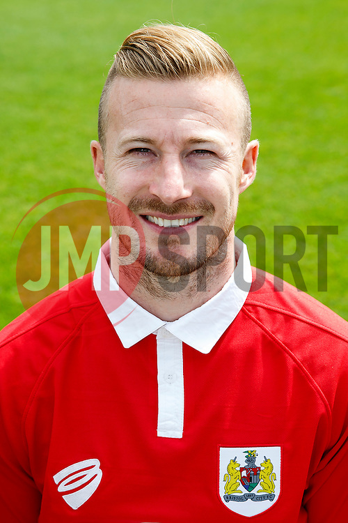 Wade Elliott poses for a head shot - Photo mandatory by-line: Rogan Thomson/JMP - 07966 386802 - 04/08/2014 - SPORT - FOOTBALL - BCFC Training Ground, Failand - Bristol City, 2014/15 Team Photos.