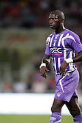 Moussa Sissoko of Toulouse. Toulouse v Trabzonspor, Europa Cup, Second Leg, Stade Municipal, Toulouse, France, 27th August 2009.