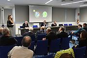 """Mara Invernizzi, panoramica<br /> Conferenza Stampa Presentazione Progetto """"Ragazze in Tiro""""<br /> FIP 2018<br /> Milano, 30/03/2018<br /> Foto F. Bertani / Ciamillo - Castoria"""