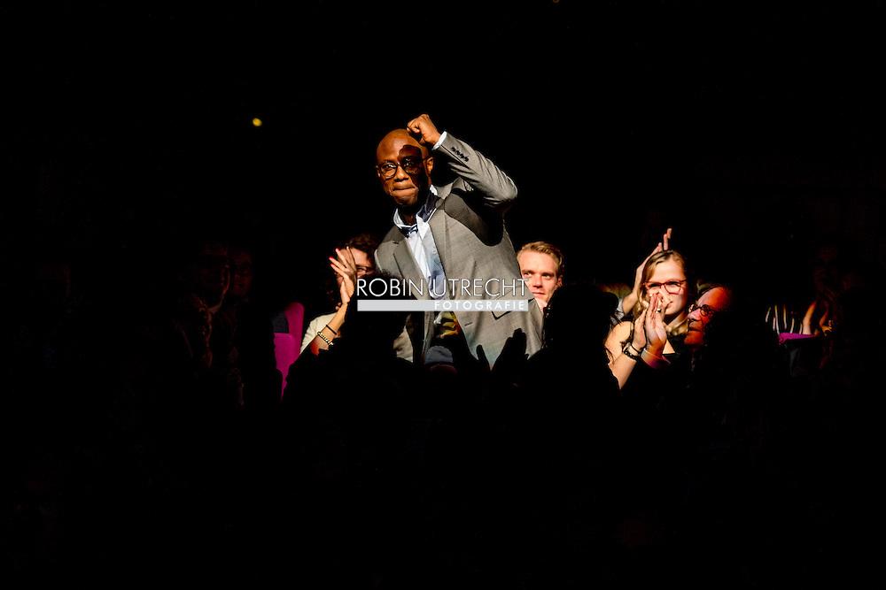 ROTTERDAM - filmfestival opening rode loper en opening van de film lemon 8 oscar nominatie regisseur Barry Jenkins  met de film moonlight ROBIN UTRECHT