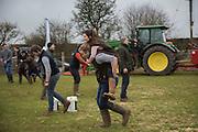 WINNERS, JANE SHAW; STEPHEN LARNER, BROADFIELD ELITE, TOUGH FARMER CHALLENGE, The Heythrop Hunt Point to Point. Cocklebarrow. 24 January 2016
