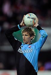 03-04-2010 VOETBAL: AZ - FC UTRECHT: ALKMAAR<br /> FC utrecht verliest met 2-0 van AZ / Mihai Nesu<br /> ©2009-WWW.FOTOHOOGENDOORN.NL
