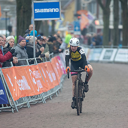 13-01-2018: Wielrennen: NK Veldrijden: Surhuisterveen<br />Kimberly Boven (Reutem) werd knap vierde