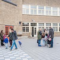 ouders schoolplein