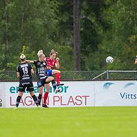 2020-07-29 | Vittsjö, Sverige: Vittsjö GIK (6) Clara Markstedt under matchen i OBOS Damallsvenskan mellan Vittsjö GIK och IK Uppsala på Vittsjö IP ( Foto av: Henrik Eberlund | Swe Press Photo )<br /> <br /> Nyckelord: Vittsjö, Fotboll, OBOS Damallsvenskan, Vittsjö IP, Vittsjö GIK, IK Uppsala, HEVU200729
