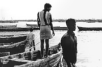 Rameswaram, India: Fishermen