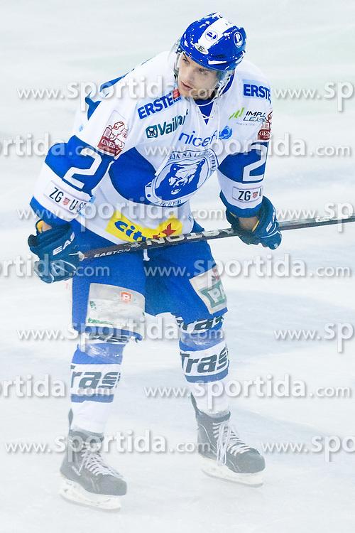 Gal Koren of KHL Medvescak Zagreb during friendly ice-hockey game between HDD Tilia Olimpija and KHL Medvescak Zagreb, on August 15, 2011, in Hala Tivoli, Ljubljana, Slovenia. (Photo by Matic Klansek Velej / Sportida)