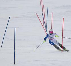 19.02.2011, Gudiberg, Garmisch Partenkirchen, GER, FIS Alpin Ski WM 2011, GAP, Damen, Slalom, im Bild Nicole Gius (ITA) // Nicole Gius (ITA) during Ladie's Slalom Fis Alpine Ski World Championships in Garmisch Partenkirchen, Germany on 19/2/2011. EXPA Pictures © 2011, PhotoCredit: EXPA/ J. Groder