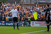 Nathan Clarke during the Capital One Cup match between York City and Bradford City at Bootham Crescent, York, England on 11 August 2015. Photo by Simon Davies.