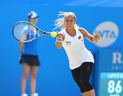 Dominika Cibulkova of Slovakia in action during the final of the Aegon International Eastbourne tennis tournament - Mandatory by-line: Paul Terry/JMP - 25/06/2016 - TENNIS - Devonshire Park - Eastbourne, United Kingdom - Dominika Cibulkova v Karolina Pliskova - Aegon International Eastbourne