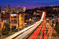 Cruising Down Aurora Avenue, Seattle