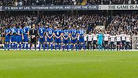 Football - 2016 / 2017 Premier League - Tottenham Hotspur vs. Leicester City<br /> <br /> at White Hart Lane.<br /> <br /> COLORSPORT/DANIEL BEARHAM