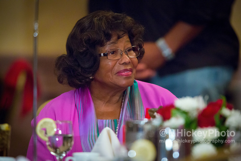 GARY, IN - AUGUST  31: Katherine Jackson appears at the Majestic Star Casino & Hotel on August 31, 2012 in Gary, Indiana. (Photo by Michael Hickey/WireImage)