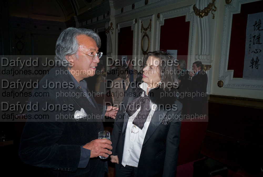 DAVID TANG; BIANCA JAGGER, David Tang and Nick Broomfield host  a reception and screening of Ghosts. On the Fifth anniversary of the Morecambe Bay Tragedy to  benefit the Morecambe Bay Children's Fund. The Electric Cinema. Portobello Rd. London W11. 5 February 2009 *** Local Caption *** -DO NOT ARCHIVE -Copyright Photograph by Dafydd Jones. 248 Clapham Rd. London SW9 0PZ. Tel 0207 820 0771. www.dafjones.com<br /> DAVID TANG; BIANCA JAGGER, David Tang and Nick Broomfield host  a reception and screening of Ghosts. On the Fifth anniversary of the Morecambe Bay Tragedy to  benefit the Morecambe Bay Children's Fund. The Electric Cinema. Portobello Rd. London W11. 5 February 2009
