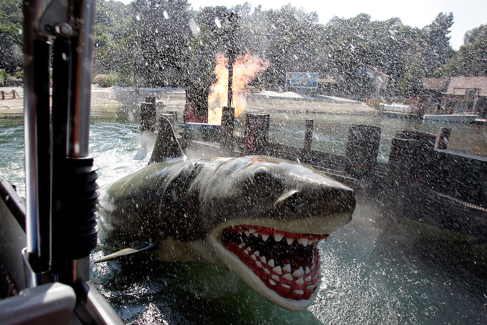 US-LOS ANGELES:  Jaws at Universal Studios. PHOTO: GERRIT DE HEUS