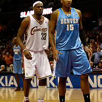 12.15.05 Denver Nuggets at Cleveland Cavaliers