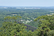 Salisbury Mills, New York - Hike up Schunnemunk Mountain on the Trestle Trail on Aug. 26, 2012.