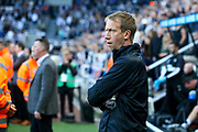 Brighton & Hove Albion manager Graham Potter during the Premier League match between Newcastle United and Brighton and Hove Albion at St. James's Park, Newcastle, England on 21 September 2019.