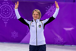 22-02-2018 KOR: Olympic Games day 13, PyeongChang<br /> Short Track Speedskating / Arianna Fontana of Italy
