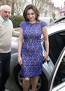 10.APRIL.2013. LONDON<br /> <br /> KELLY BROOK ARRIVING AT THE RIVERSIDE STUDIOS IN HAMERSMITH, LONDON TO FILM CELEBRITY JUICE.<br /> <br /> BYLINE: EDBIMAGEARCHIVE.CO.UK<br /> <br /> *THIS IMAGE IS STRICTLY FOR UK NEWSPAPERS AND MAGAZINES ONLY*<br /> *FOR WORLD WIDE SALES AND WEB USE PLEASE CONTACT EDBIMAGEARCHIVE - 0208 954 5968*