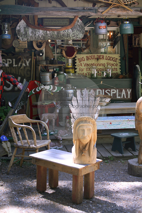 Shop selling Native American crafts and gifts in the remote Northwoods of northern Wisconsin.