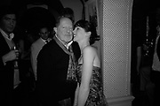 Nick Roeg and Margot Stilley,  Charles Finch and Chanel 7th Anniversary Pre-Bafta party to celebratew A Great Year of Film and Fashiont at Annabel's. Berkeley Sq. London W1. 10 February 2007. -DO NOT ARCHIVE-© Copyright Photograph by Dafydd Jones. 248 Clapham Rd. London SW9 0PZ. Tel 0207 820 0771. www.dafjones.com.