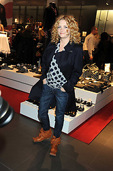 Singer ALISON GOLDFRAPP at a preview of the H&M Comme des Garcons collection held at H&M Regent Stret, London on 12th November 2008.