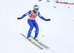 03.01.2015, Bergisel Schanze, Innsbruck, AUT, FIS Ski Sprung Weltcup, 63. Vierschanzentournee, Training, im Bild Michael Hayboeck (AUT) // Michael Hayboeck of Austria in action during Trial Jump of 63 rd Four Hills Tournament of FIS Ski Jumping World Cup at the Bergisel Schanze, Innsbruck, Austria on 2015/01/03. EXPA Pictures © 2015, PhotoCredit: EXPA/ Peter Rinderer