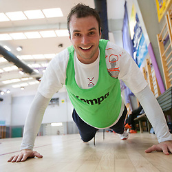 20120111: SLO, Handball - Practice session of Slovenian Men Handball team in Zrece