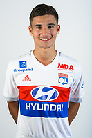 Houssem Aouar during Photoshooting of Lyon for new season 2017/2018 on September 27, 2017 in Lyon, France. (Photo by Damien lg/OL/Icon Sport)