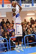 DESCRIZIONE : Brindisi Lega serie A 2013/14 Enel Brindisi Acea Virtus Roma<br /> GIOCATORE : Ron Lewis<br /> CATEGORIA : Tiro Three Points<br /> SQUADRA : Enel Brindisi<br /> EVENTO : Campionato Lega Serie A 2013-2014<br /> GARA : Enel Brindisi Acea Virtus Roma <br /> DATA : 26/01/2014<br /> SPORT : Pallacanestro<br /> AUTORE : Agenzia Ciamillo-Castoria/GiulioCiamillo<br /> Galleria : Lega Seria A 2013-2014<br /> Fotonotizia : Brindisi Lega serie A 2013/14 Enel Brindisi Acea Virtus Roma<br /> Predefinita :