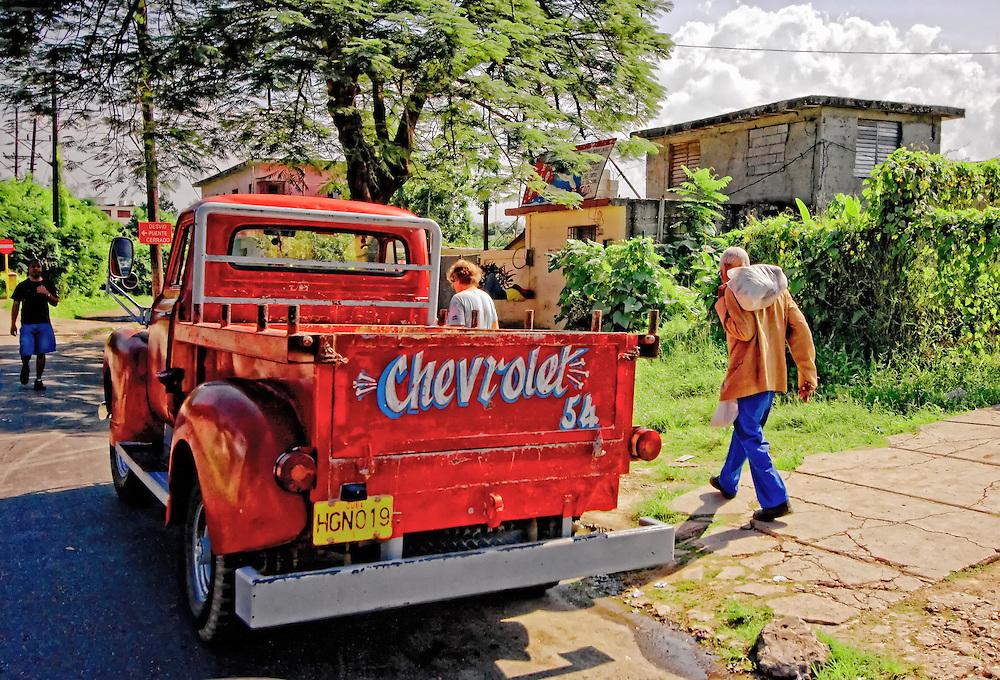 Truck in Havana Regla, Cuba.
