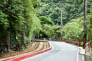 Wulai Scenic train line is a 1.6km long tourist train that originally served as a logging train. Following the demise of the logging industry in the area, a short section was repurposed for tourism.