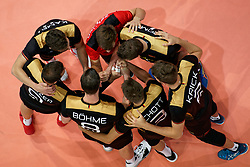 21-09-2019 NED: EC Volleyball 2019 Netherlands - Germany, Apeldoorn<br /> 1/8 final EC Volleyball / Germany
