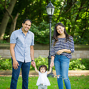 Justine Cheng family - Prospect Park, Brooklyn