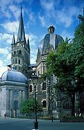 DEU, Germany, Aachen, the cathedral....DEU, Deutschland, Aachen, der Dom. ........