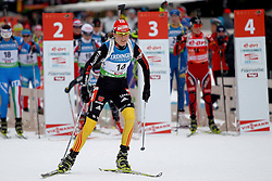10.12.2011, Biathlonzentrum, Hochfilzen, AUT, E.ON IBU Weltcup, 2. Biathlon, Hochfilzen, Verfolgung Damen, im Bild Bachmann Tina (GER) // during E.ON IBU World Cup 2th Biathlon, Hochfilzen, Austria on 2011/12/10. EXPA Pictures © 2011. EXPA Pictures © 2011, PhotoCredit: EXPA/ nph/ Straubmeier..***** ATTENTION - OUT OF GER, CRO *****