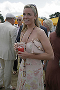 Tamzin Outhwaite, Veuve Clicquot Gold Cup 2006. Final day. 23 July 2006. ONE TIME USE ONLY - DO NOT ARCHIVE  © Copyright Photograph by Dafydd Jones 66 Stockwell Park Rd. London SW9 0DA Tel 020 7733 0108 www.dafjones.com