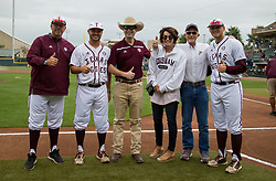 Tennessee vs. Texas A&M in an NCAA college baseball game, Saturday, April 22, 2017, in College Station, Texas.