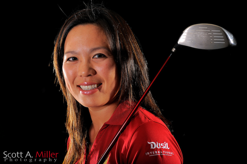 Tiffany Tavee during a portrait shoot prior to the LPGA Future Tour's Daytona Beach Invitational at LPGA International's Championship Courser on March 28, 2011 in Daytona Beach, Florida... ©2011 Scott A. Miller