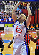 DESCRIZIONE : Biella Lega A 2011-12 Angelico Biella Bennet Cantu<br /> GIOCATORE : Greg Brunner<br /> SQUADRA :  Bennet Cantu<br /> EVENTO : Campionato Lega A 2011-2012 <br /> GARA : Angelico Biella Bennet Cantu <br /> DATA : 29/04/2012<br /> CATEGORIA : Penetrazione Tiro<br /> SPORT : Pallacanestro <br /> AUTORE : Agenzia Ciamillo-Castoria/ L.Goria<br /> Galleria : Lega Basket A 2011-2012 <br /> Fotonotizia : Biella Lega A 2011-12  Angelico Biella Bennet Cantu <br /> Predefinita