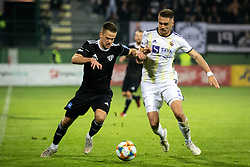 Tomi Horvat of NŠ Mura and Blaž Vrhovec of Maribor during football match between NŠ Mura and NK Maribor in semifinal Round of Pokal Telekom Slovenije 2018/19, on April 24, 2019 in Fazanerija, Murska Sobota, Slovenia. Photo by Blaž Weindorfer / Sportida