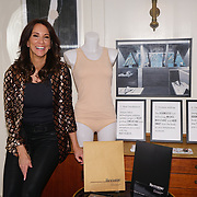 TV presenter and ITV's 'Loose Woman' Andrea McLean launching a new range of underwear especially designed for menopausal women in conjunction with Become on 8th March 2018 in London, UK.